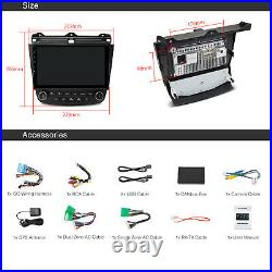 10.1 IPS Car Android 10 Stereo GPS Head Unit for Ford Honda Accord 7Gen 2003-07