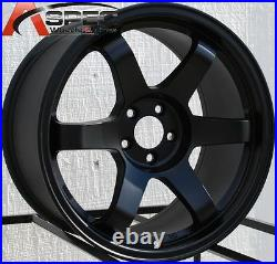 17x9 +42 Rota Grid 5x114.3 Black Wheel Fits Honda S2000 CIVIC Si Accord 8th Gen
