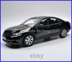 1/18 Honda Accord 8th Half eight half generation Diecast Model Car Gold/Black