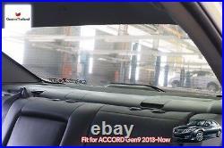 1 Pc Back Rear Windscreen Curtain Blind Sun Shade Fit For Honda Accord Gen9