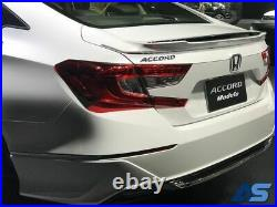 2018-21 JDM Accord 4D Sedan Front & Rear Under Skirt Body Spoiler Genuine Honda