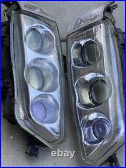 94-97 Honda Accord Denji Glass Projector Headlights SIR 5TH GEN Rare CD6