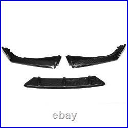 Carbon Black Front Bumper Lip Splitter For Honda Accord 10TH GEN 2018-2020