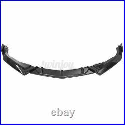 Carbon Black Front Bumper Lip Splitter For Honda Accord 10th Gen Sport 2018-2020