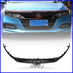 Carbon Sport Style Front Grille For 2018-2019 10th Gen Honda Accord Sedan JDM US