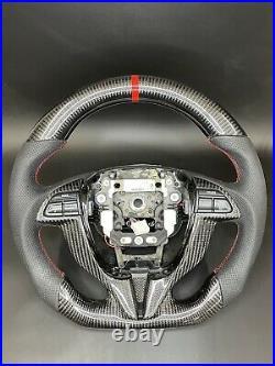 Carbon fiber steering wheel Honda Accord 8th Gen 20082012 2dr Coupe