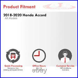 Clear LED Signal Fog Lights Lamp +Wiring Kit For 2018-2020 Honda Accord Sedan CV