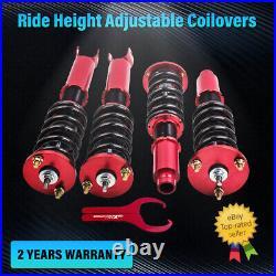 Coilover Shock Absorber Adj Height For Honda Accord 8th Gen 2008-2012 Strut Kits