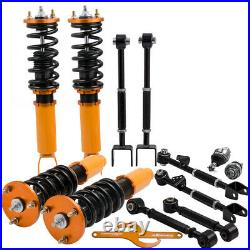 Coilovers Spring Set & Ball Joints & Rear Camber Arms Kit for Honda ACCORD 08-12