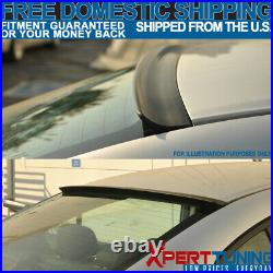 Fit For 2003-2007 Honda Accord 7th Gen Rear Window Visor Roof Lip Spoiler