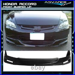 Fits 03-05 Honda Accord 4Door MUG PU Front Bumper Lip Spoiler