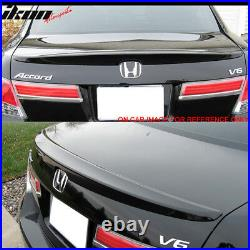 Fits 08-12 Honda Accord Sedan Trunk Spoiler Painted #NH700M Alabaster Silver