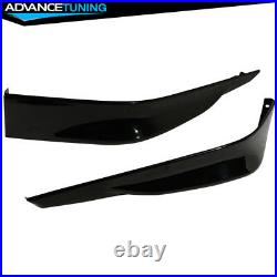 Fits 13-15 Accord Sedan HFP Front Bumper Lip Painted #NH731P Crystal Black Pearl