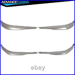 Fits 13-15 Accord Sedan HFP Front Lip Painted #NH700M Alabaster Silver Metallic