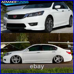 Fits 13-15 Accord Sedan HFP Front Lip Spoiler #NH788P White Orchid Pearl