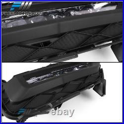 Fits 16-17 Honda Accord Coupe 2Door 2Dr Clear Lens LED Bumper Fog Lights