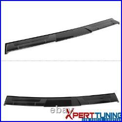Fits 18-20 Honda Accord Ikon Style Rear Roof Spoiler Lip Carbon Fiber Print ABS