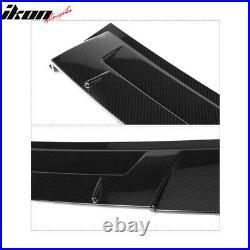 Fits 18-20 Honda Accord Ikon Style Roof Spoiler Carbon Fiber Print