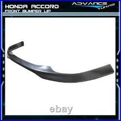 Fits 98-02 Honda Accord Sedan 4Dr PP Add-On T-R Front Bumper Lip Spoiler