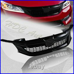 For 16-17 Honda Accord Sedan Gen 9Th Sport Style Gloss Black Front Grille Grill