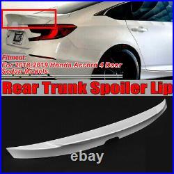 For 18-19 Honda Accord 10TH GEN MCX Style Rear Duckbill HighKick Trunk