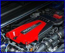 For 18-2020 10th Gen Honda Accord 1.5t Red Black Type-r Style Engine Valve Cover