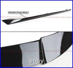 For 18-2020 Honda Accord Akasaka Gloss Blk Trunk LID + Rear Window Roof Spoiler