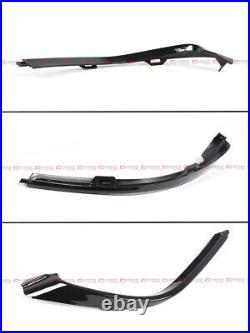 For 18-2020 Honda Accord Sport Yf Style Glossy Blk Rear Bumper Diffuser Valance