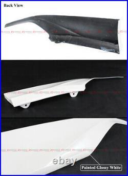 For 18-2021 10th Accord Yofer Platinum White Pearl Rear Bumper Corner Apron Spat