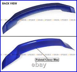 For 18-2021 Accord Jdm V2 Highkick Still Night Pearl Blue Duckbill Trunk Spoiler