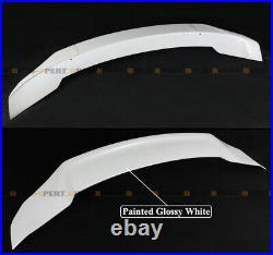 For 18-2021 Accord Jdm V2 Platinum Pearl White High Kick Duckbill Trunk Spoiler