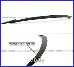 For 18-21 10th Gen Honda Accord Yofer Gloss Black Extended Trunk Spoiler Wing V3