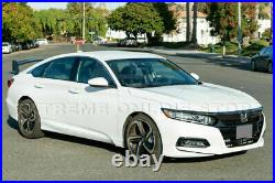 For 18-Up Honda Accord Sedan Rear JDM Type-R Style Spoiler Trunk Lid Wing New