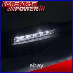 For 2016-2017 Honda Accord 9.5 Gen 4DR Sedan OE Style LED Bumper Smoked Fog Lamp