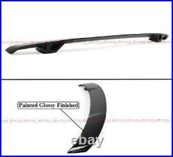 For 2018-2021 Honda Accord 10th Gen Yofer V2 Glossy Black Trunk LID Spoiler Wing