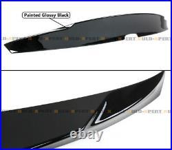 For 2018-2021 Honda Accord High Kick Duckbill Trunk Spoiler- Painted Black Pearl