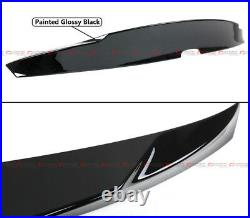 For 2018-2021 Honda Accord Painted Black Pearl Duck Tail Duckbill Trunk Spoiler