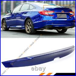 For 2018-2021 Honda Accord Painted Still Night Pearl Blue Duckbill Trunk Spoiler
