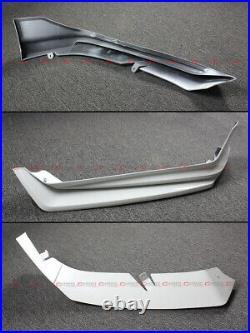 For 2021-22 Honda Accord Yofer Painted White Pearl Front Bumper Lip Splitter Kit