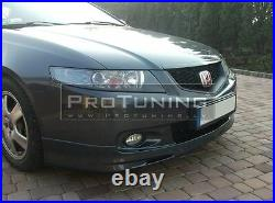 For HONDA ACCORD VII 7 gen CL 02-06 Front Bumper spoiler lip Valance splitter