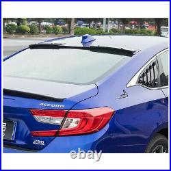 For Honda Accord 2018-2021 Carbon Fiber Print Roof Spoiler Rear Window Spoiler