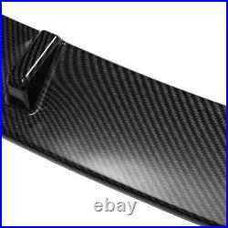 For Honda Accord 9-9.5th 14-17 Carbon Fiber Look Front Bumper Lip Spoiler Wing