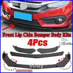 For Honda Accord Civic Sedan 10th Gen Hatchback SI Front Bumper Lip Spoiler