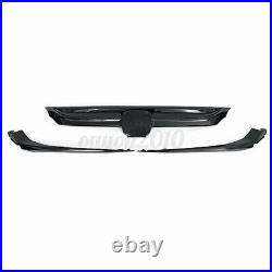 For Honda Accord Sedan 2018-2019 10th Gen JDM Sport Style Grille Glossy Black