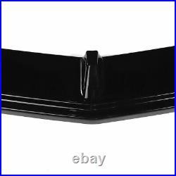 Front Bumper Lip Splitter Gloss Black For Honda Accord 10th Gen Sport 2018-2020