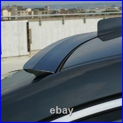 Fyralip Forte Painted Window Roof Spoiler For Honda Accord CS Gen 8 Coupe 08-12