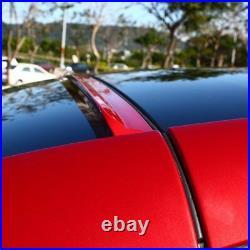Fyralip Legato Painted Window Roof Spoiler For Honda Accord UC1 Gen 7 4D 03-05