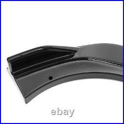Gloss Black Front Bumper Lip Splitters For Honda Accord 10th Gen Sport 2018-2020