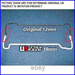 HONDA ACCORD 9th GEN CR2 4DR'13 ULTRA RACING 4 POINT MIDDLE LOWER CHASSIS BRACE