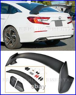 JDM Type-R Style Spoiler For 18-Up Honda Accord Sedan Rear Trunk Lid Wing New